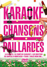 DVD KARAOKE - Chansons Paillardes