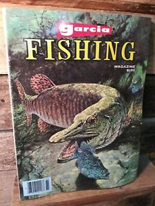 Vintage Garcia Fishing Annual 1978 Magazine Book Rods Reels Lures