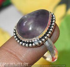 "Amethyst Gemstone Ring 925 Sterling Silver Overlay U265-E121 Us Size 8.5"""