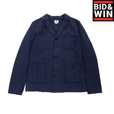 Rrp€110 Mauro Grifoni Sweat Blazer Jacket Size 12Y Single Breasted Made in Italy