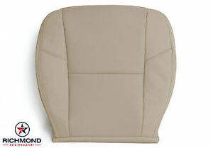 2009-2014 GMC Yukon Denali -Driver Side Bottom Perforated Leather Seat Cover TAN