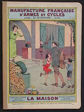 Manufacture d'armes et de cycles - La Maison 1935 catalogue Mercerie Couture