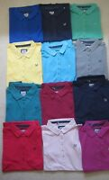 Ladies Ex Crew Clothing Company Classic Polo Shirt Top size 6-16 spot trim