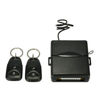 CAR REMOTE CENTRAL LOCK KEYLESS ENTRY SYSTEM WITH 2 REMOTE CONTROLLERS TM C8K9