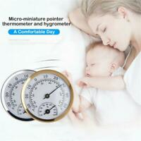 Room Widely Use Analog Wall Mounted Thermometer Hygrometer Humidity Gauge