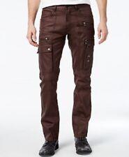 I.N.C. Men's Explorer Slim-Straight Cargo Jeans 34x32