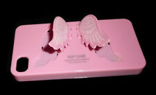 NEW PINK SGP WINGS APPLE IPHONE 4 4S RIGID PLASTIC CASE SUPER FAST SHIPPING