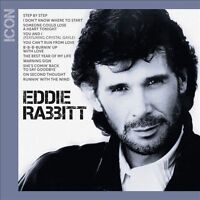 ICON By EDDIE RABBITT  (CD) W or W/O CASE EXPEDITED WITH CASE