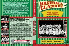 1934 & 1935 World Series Tigers, Cardinals, Cubs on DVD