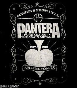 PANTERA cd lgo Cowboys from Hell SPADE Official BABYDOLL SHIRT LRG new