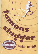 """1946--""""FAMOUS SLUGGER YEARBOOK""""--BASEBALL--NMT"""
