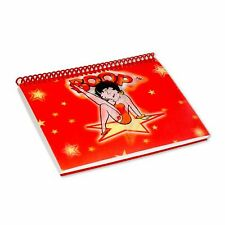 "Lenticular Betty Boop Spiral Star Red Photo Album 4""x6""36 Picture #BB-203-PA4X6#"