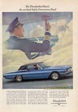 1966 Thunderbird 2-Door Town Landau Captain Overhead Convenience Panel PRINT AD
