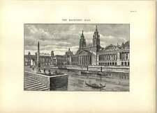1893 Machinery Hall Boats And Gondolas Drawings
