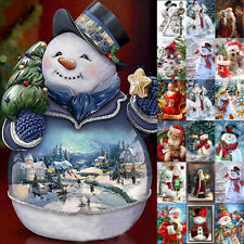5D Diamond Painting Full Drill Embroidery Cross Stitch Kit Decor Christmas Gift
