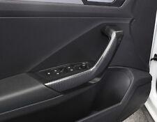 Kohlefaser Look Interior Tür Armlehne Griffe Trim 4 Stück für VW T-Roc 2017-2018