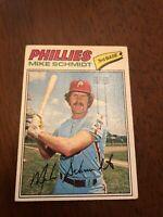 1977 Topps Mike Schmidt Philadelphia Phillies #140 Baseball Card