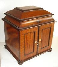 Antique WRITING BOX English Compendium STATIONERY or KEEP SAKE BOX, DRESSING BOX