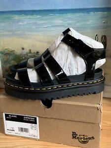 Womens Dr.martens Blaire Black Sandals Size 6.5