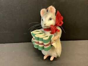 RAREST SAMPLE R. John Wright Christmas Mouse MERRY Limited Edition