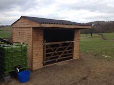 Mobile field shelter 12x12 t&g rabat avec porte. livraison gratuite dans les 50 miles