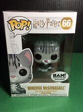 Funko Pop! Harry Potter Minerva McGonagall Animangus Cat BAM Exclusive
