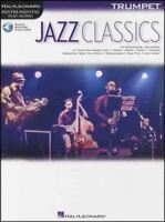 Jazz Classics Trumpet Instrumental Play-Along Sheet Music Book with Audio