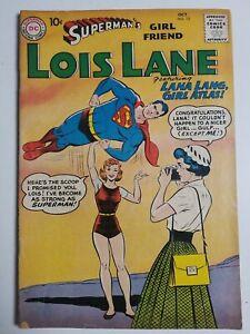 Superman's Girlfriend Lois Lane (1958) #12 - Good/Very Good