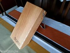 5 SLOT CUTCO KNIFE WOOD   BLOCK HOLDER STAND 146 SPACE SAVER  KNIVES