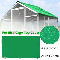 Bird Cage Cover Parrot Pet Top Roof Drapes Large Waterproof Guard Protector