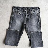 Mens WRANGLER Austin Jeans Regular fit Straight Leg Charcoal grey Size W38 L32