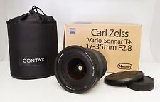 Contax Carl Zeiss Vario-Sonnar T* 17-35mm f/2.8 Lens AS IS - With Box, Case, Etc
