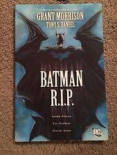 Batman: R.I.P. RIP Graphic Novel tpb Grant Morrison