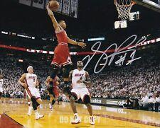 Derrick Rose Signed 8X10 Photo Autograph Chicago Bulls