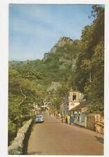 Entrance To The Gorge Cheddar Old Postcard 294a