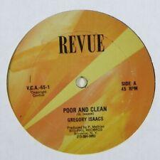 "Gregory Isaacs ""Poor & Clean"" Reggae 12"" Revue mp3"