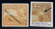 "Malta, SG 238ca, MLH, ""Halation Flaw"" variety"