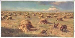 Rural Middle America Harvesting -  artist R. Atkinson Fox