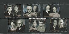 2009 #4384 Civil Rights Pioneers 6 Singles 4384a-f MNH