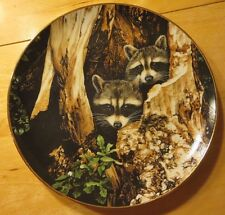 A Curious Pair by Ron Parker - Hamilton Collector Plate