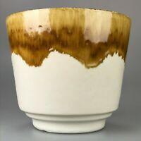 60er 70er Jahre Topf Blumentopf Blumenübertopf Keramik Space Age Design 60s 70s