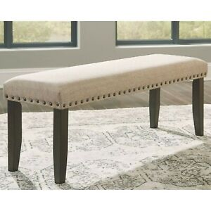 Signature Design By Ashley Casual Cushioned Bench - Light Brown
