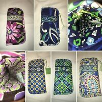 VERA BRADLEY Single Soft Eyeglass Case 2.0 - Multiple Variations Available