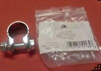 """MOUNTAIN / ROAD BIKE SEAT POST CLAMP STEEL 1"""" CROME BICYCLE SEAT  NEW"""