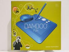 Wacom Bamboo Fun Blue Graphic Tablet #CTE450B