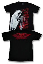 "AEROSMITH - STEVEN TYLER ""IF IT'S TOO LOUD YOU'RE TOO OLD"" T-SHIRT *NEW* / SZ. L"