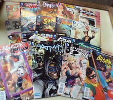 DC NEW 52 SELFIE VARIANT COVERS SET 19 COMICS 2014 BATMAN SUPERMAN HARLEY QUINN