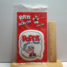 New ListingVintage 1980 King Features Syndicate Popeye Smoking Pipe Toot Toot Patch
