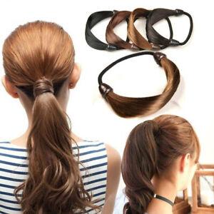Women Elastic Hair Band Personality Wig Braid Hair Rope Ponytail Holder Fashion'