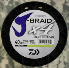 Spool Daiwa J-Braid x4 Braided Fishing Line 40# Test 3000 Yards YELLOW BRAND NEW